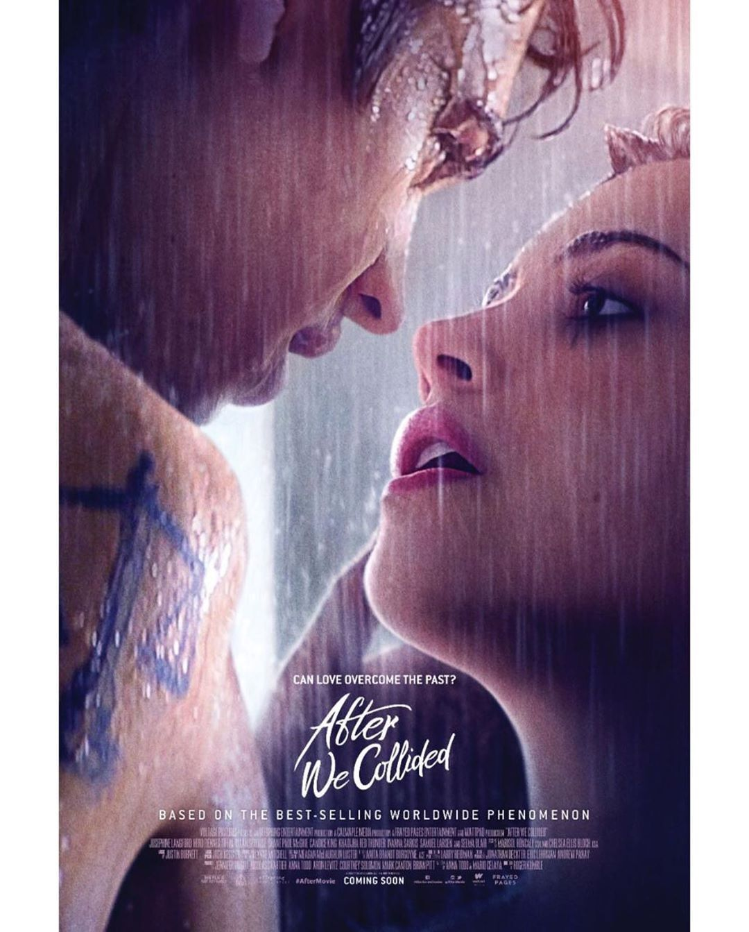 'After We Collided' Movie Poster Was Just Released & It's Hot