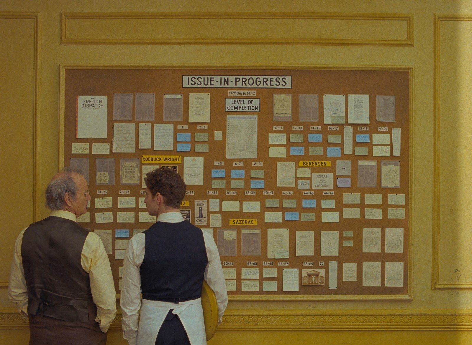 First Images from the Next Wes Anderson Movie