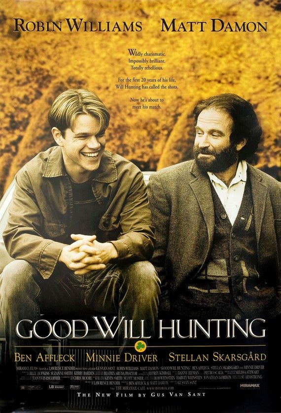 Good Will Hunting 1997 U.S. One Sheet Poster