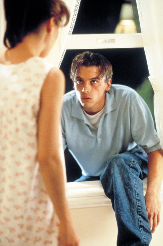 When he crawled through Neve Campbell's window in Scream and you had . . . feelings.